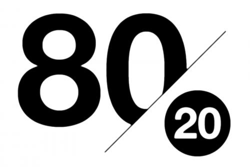 80/20 rule of affiliate marketing